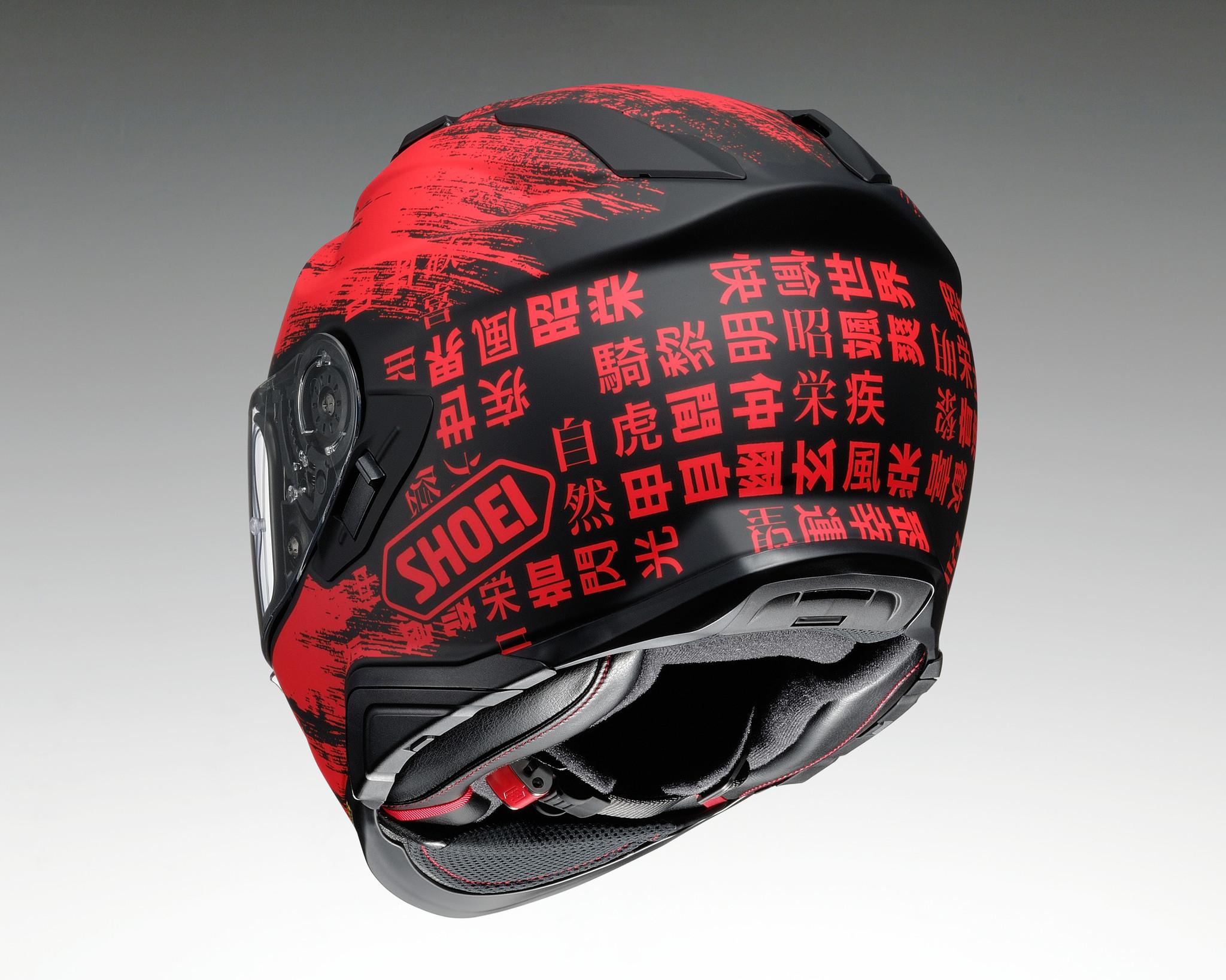Shoei GT-Air II Ogre TC-1 helm kopen? + 50% korting op een Extra Vizier - Champion Helmets - Motorhelmen en -Kleding