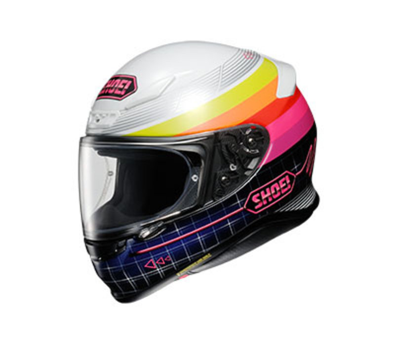 Shoei NXR Zork TC-7 Helmet + 50% discount Extra Visor!