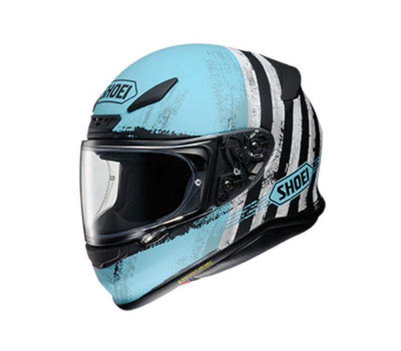Shoei NXR Shorebreak TC-2 Helmet + 50% discount Extra Visor!