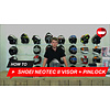 Shoei How to replace the visor and the Pinlock lens of the Shoei Neotec 2