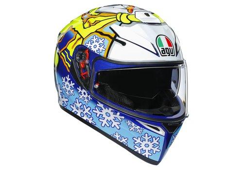 AGV K3 SV Rossi Winter Test 2016 Helm