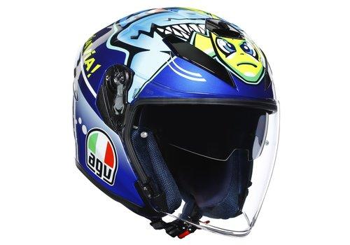 AGV K-5 Jet Rossi Misano 2015 Helm