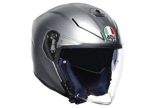 AGV K-5 Jet Helmet Matt Grey