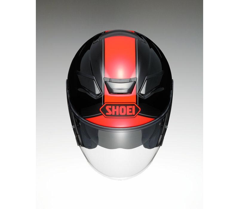Shoei J-Cruise 2 Adagio TC-1 Helm kopen? Gratis Extra Vizier!