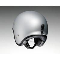Shoei J.O Helmet Silver + 50% discount Extra Visor!