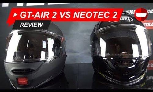 Shoei GT Air 2 vs Neotec 2