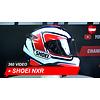 Shoei Shoei NXR Cluzel TC-1 Full-face helmet 360 Video