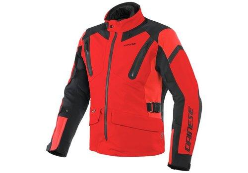 Dainese Tonale D-Dry Jacke Rot Schwarz