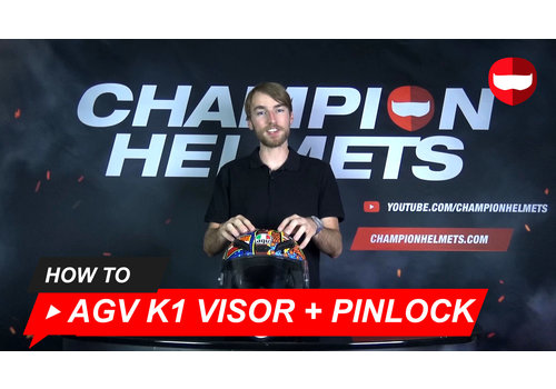 AGV How to replace the visor and the Pinlock lens of the AGV K1