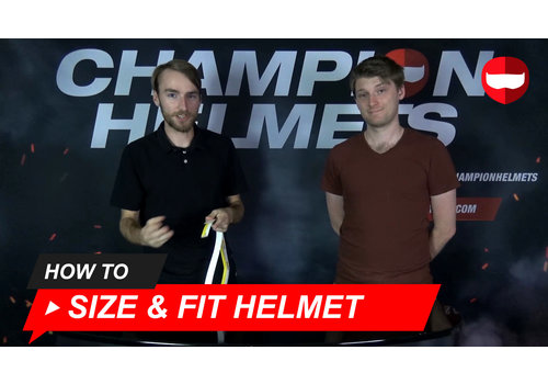 How to Size and Fit Your Helmet