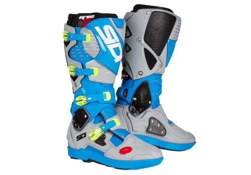 Sidi Crossfire 3 SRS Boots Light Blue Ash