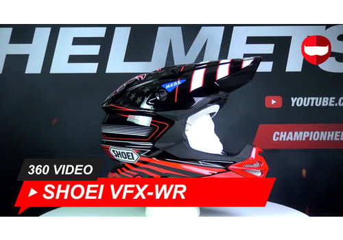 Shoei Shoei VFX-WR Grant 3 TC-1 Cross 360 Video