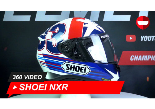 Shoei Shoei NXR Indy Marquez TC-2 360 Video
