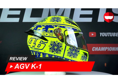 AGV AGV K-1 Winter test 2015 360 Video