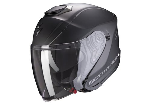 Exo-S1 Matt Black-Silver Helmet