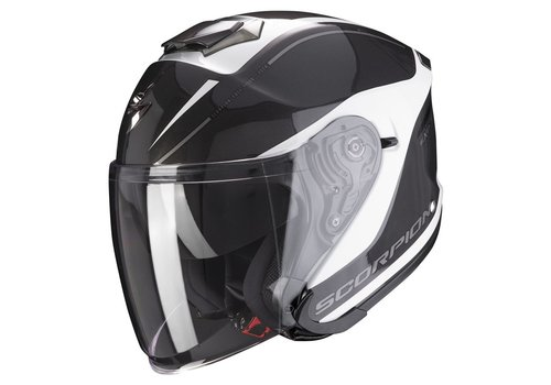 Scorpion Exo-S1 White-Silver Helmet