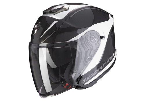 Scorpion Exo-S1 White Neon-Yellow Helmet