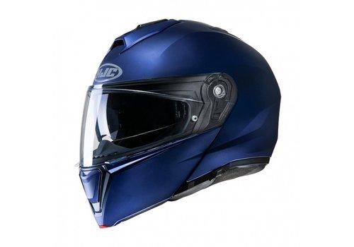 HJC I-90 Semi-Flat Metallic Blauw Helm