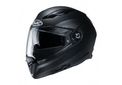 HJC F70 Semi-Flat Zwart Helm