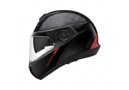 Schuberth C4 Pro Carbon Fusion Rood Helm