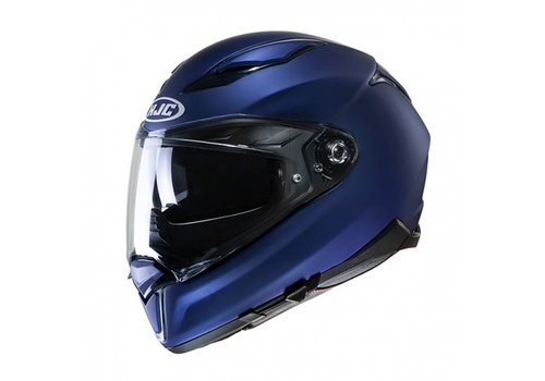 HJC F70 Semi-Flat Metallic Blauw Helm
