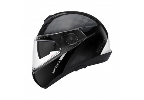 Schuberth C4 Pro  Carbon Fusion White Helmet