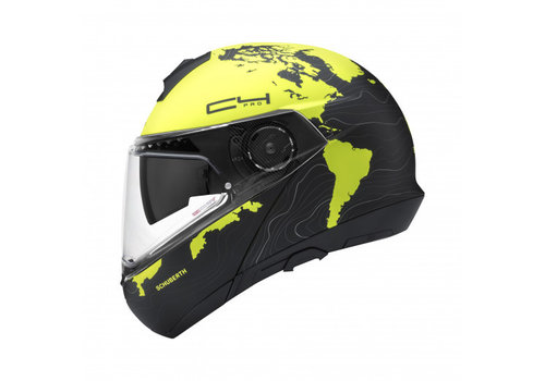 Schuberth C4 Pro Magnitudo Yellow Helmet
