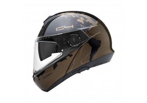 Schuberth C4 Pro Magnitudo Brown Helmet