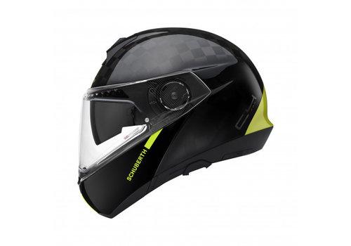 Schuberth C4 Pro Carbon Fusion Geel Helm