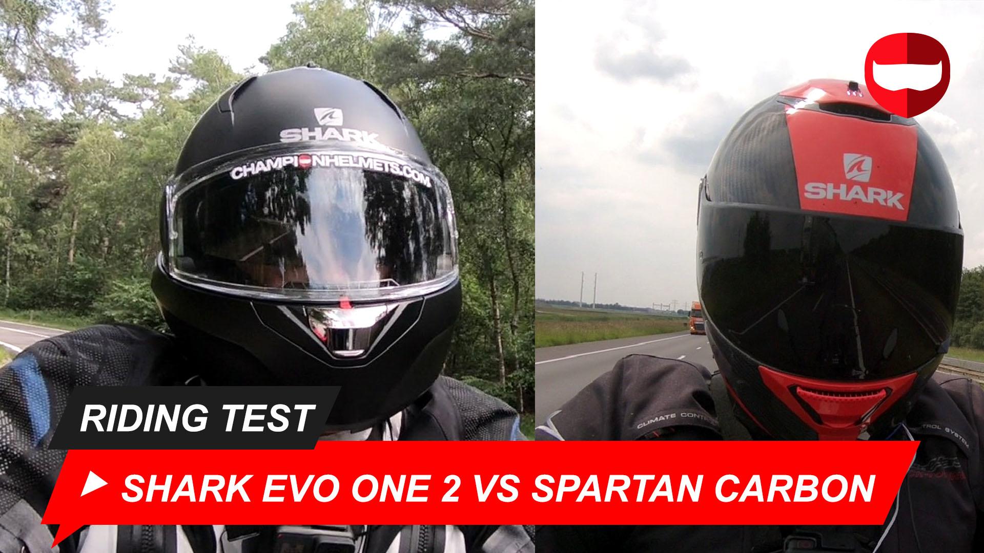 Shark Evo One 2 vs. Shark Spartan Carbon