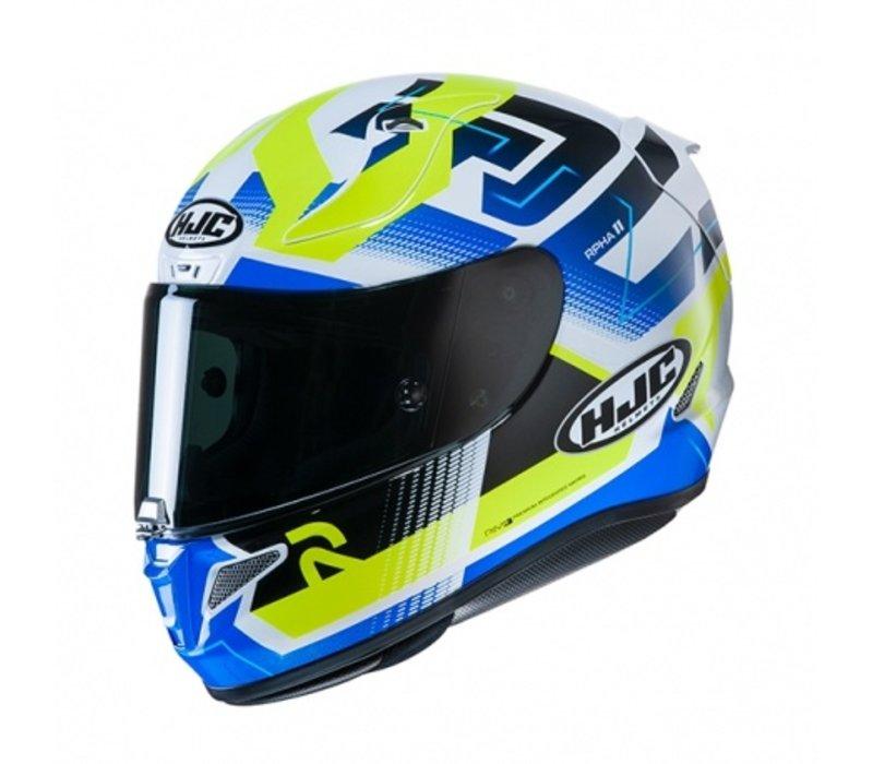 HJC RPHA 11 Nectus MC24H Helmet + Free Additional Visor!