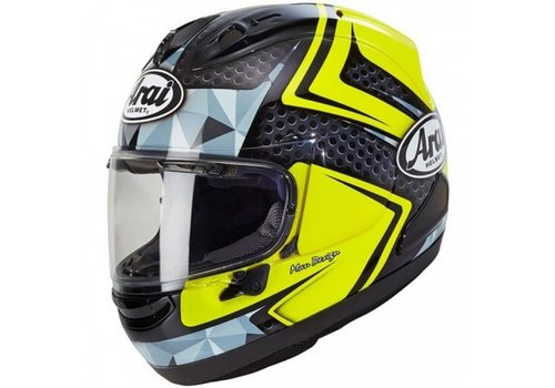 Arai RX-7V Dyno Fluor Yellow Helmet