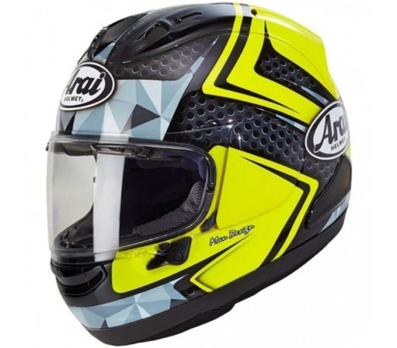 Buy Arai RX-7V Dyno Fluor Yellow Helmet? Free Additional Visor!