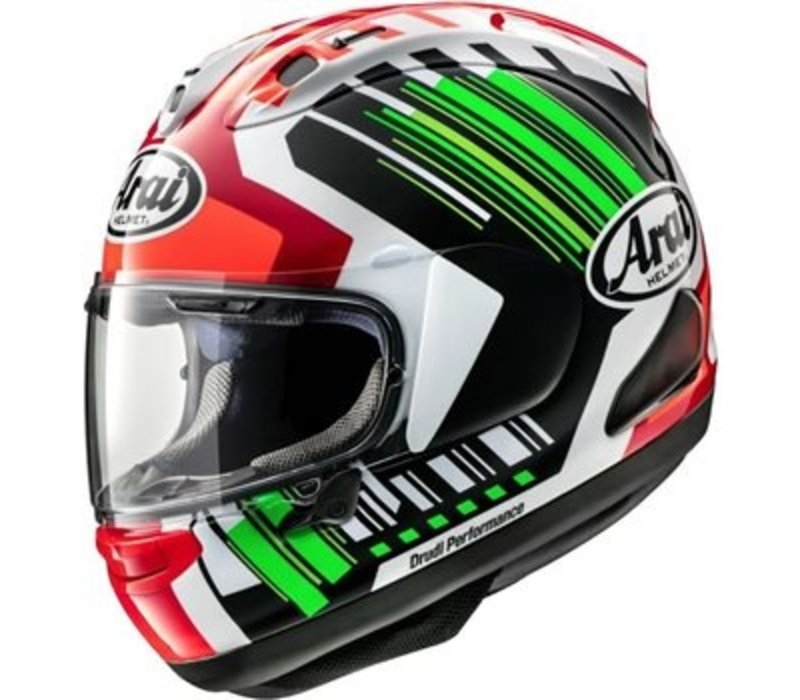 Buy Arai RX-7V Rea Green Helmet? Free Additional Visor!