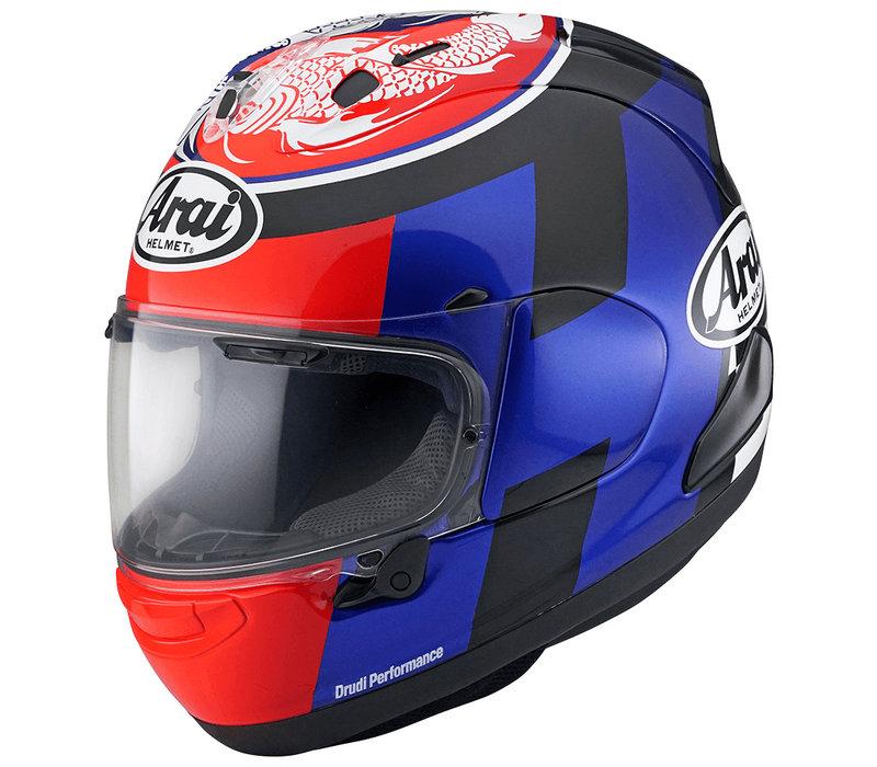 Buy Arai RX-7V Leon Haslam Helmet? Free Additional Visor!