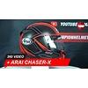 Arai Arai Chaser-X Spine Red Full/face Helmet 360 Video