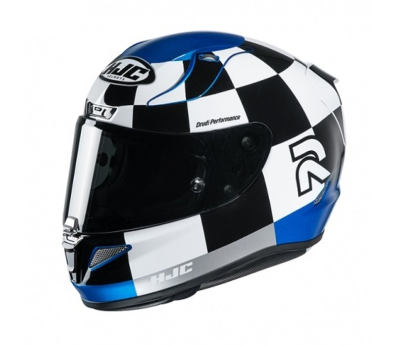 HJC RPHA 11 Misano MC2 Helmet + Free Additional Visor!