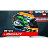 Arai Arai RX-7V Michael van der Mark Full-face Helmet 360 Video