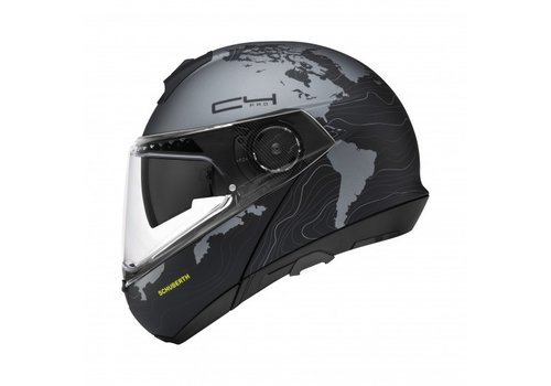 Schuberth C4 Pro Lady Magnitudo Black Helmet