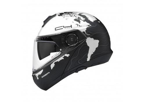 Schuberth C4 Pro Lady Magnitudo White Helmet