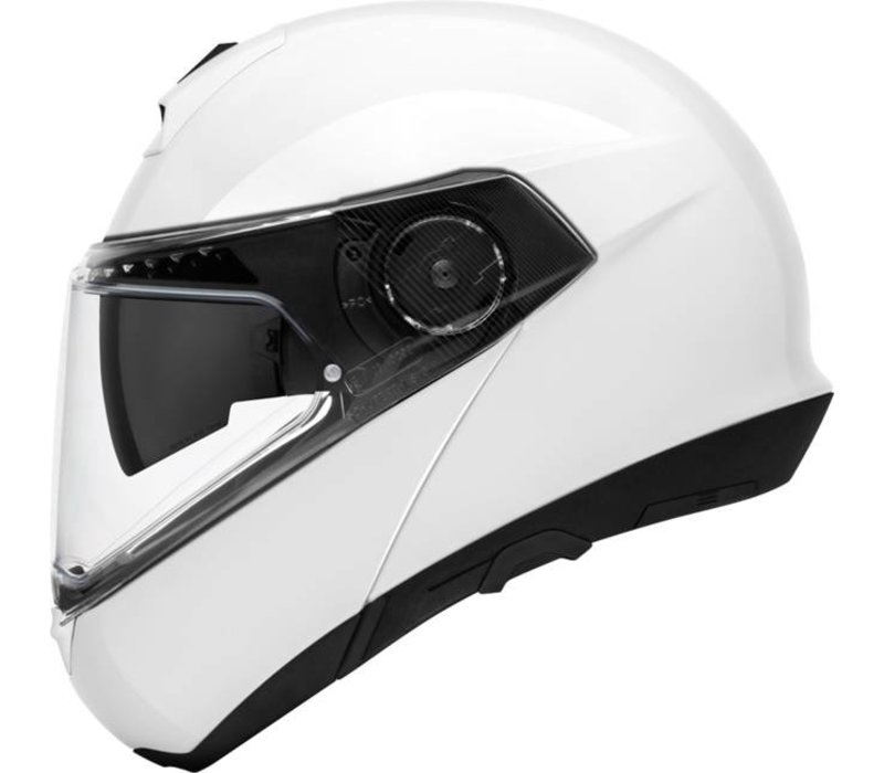 Schuberth C4 Pro Lady Helmet Glossy White + Free Additional Visor!
