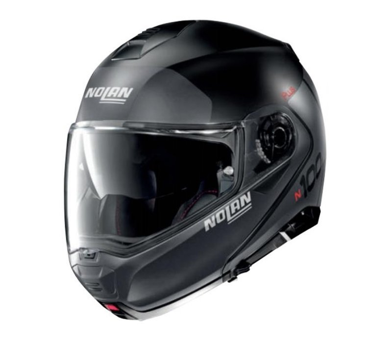 Buy Nolan N1005 Plus Flat Black Helmet + Free Additional Visor!