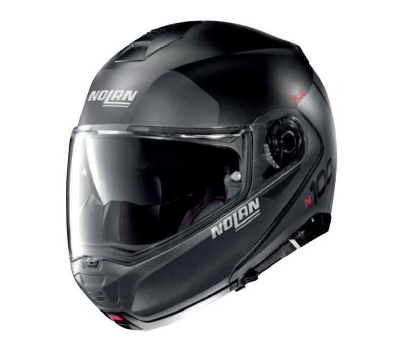 Nolan N1005 Plus Flat Zwart Helm Kopen? + Gratis Extra Vizier