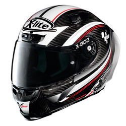 X-LITE X-Lite X-803 RS Ultra Carbon MOTOGP Helm kopen? Gratis Extra Donker Vizier!