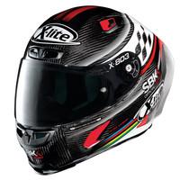 X-Lite X-803 RS Ultra Carbon SBK Helm kopen? +50% korting op een Extra Vizier!