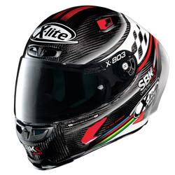 X-LITE X-Lite X-803 RS Ultra Carbon SBK Helm kopen? +50% korting op een Extra Vizier!