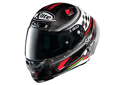 X-LITE X-803 RS Ultra Carbon SBK Helm