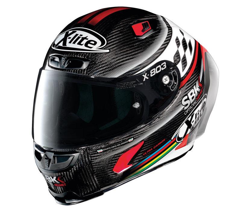 Buy X-Lite X-803 RS Ultra Carbon SBK Helmet? +50% discount on an Extra Visor!