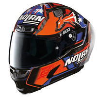 Buy X-Lite X-803 RS Ultra Carbon Stoner Replica Helmet? Free Additional Dark Smoke Visor!