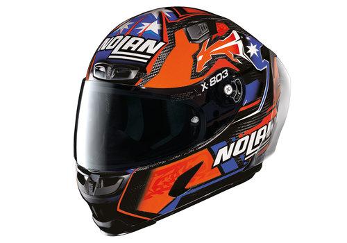 X-LITE X-803 RS Ultra Carbon Stoner Replica Helmet